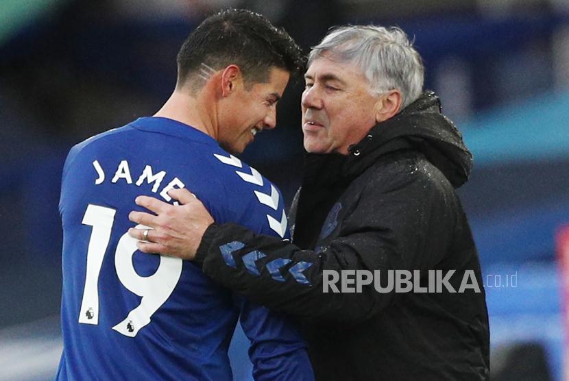 Ancelotti: James Rodriguez Bukan Pemain yang Andalkan Fisik