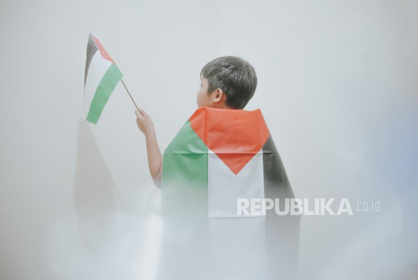 Korban jiwa anak di Palestina akibat diserang Zionis Israel (ilustrasi).