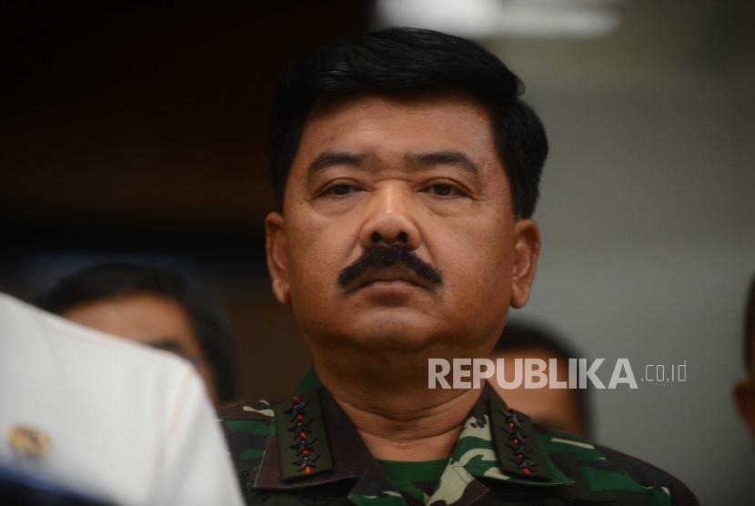 Indonesian Armed Forces (TNI) Commander Marshal Hadi Tjahjanto