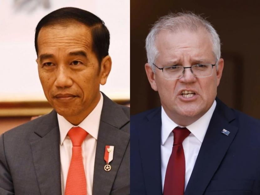 PM Australia dan Presiden Jokowi