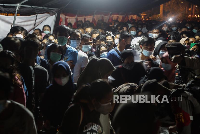 Pemkot Medan Sebut tidak Terlibat Vaksinasi Picu Kerusuhan (ilustrasi).