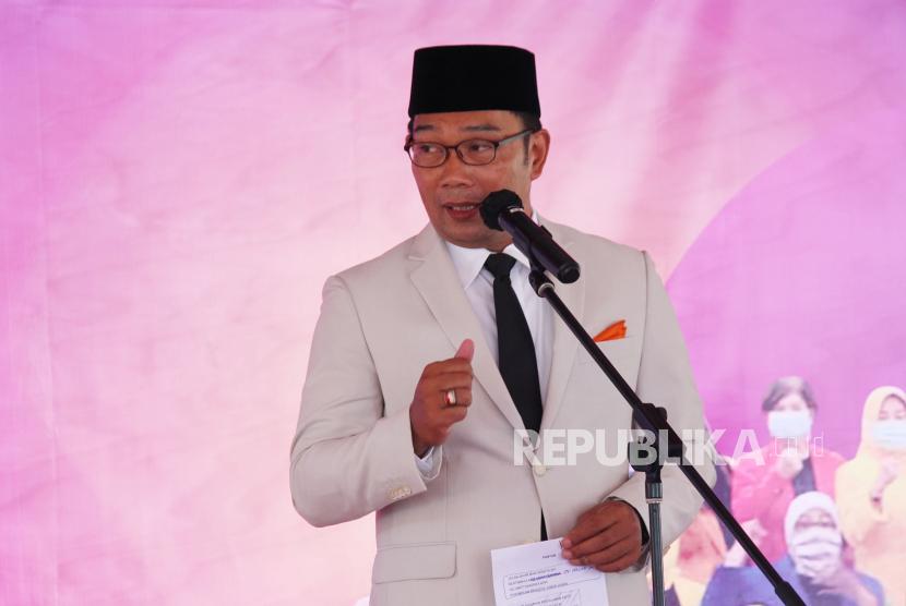 Ridwan Kamil Apresiasi Santunan Taspen bagi Almarhum Solihin. Gubernur Jawa Barat Ridwan Kamil