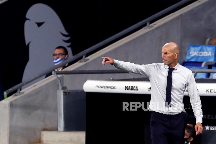 Zidane akan Panggil Tiga Pengganti untuk Lawan Shakhtar