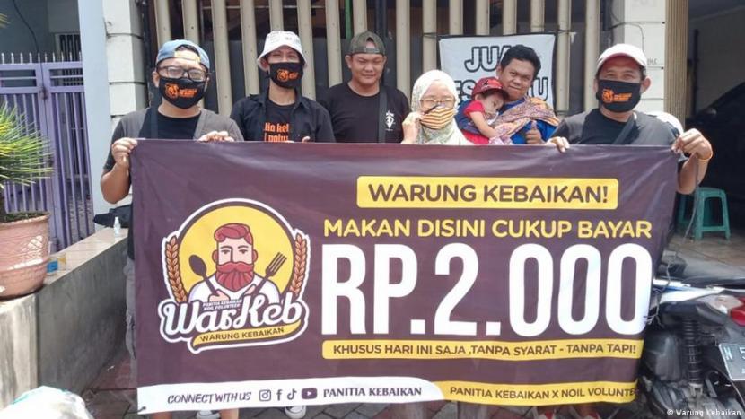Warung Kebaikan: Warung Kebaikan di Malang, Makan Hanya Bayar Rp 2.000