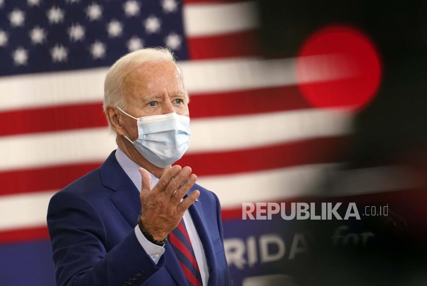 Presiden Amerika Serikat Joe Biden telah menerbitkan Executive Order (EO) 14008 yang berjudul 'Tacling the climate crisis at home an abroad'.  (foto ilustrasi)