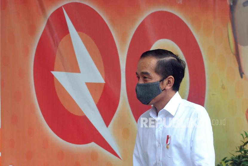 Presiden Joko Widodo .