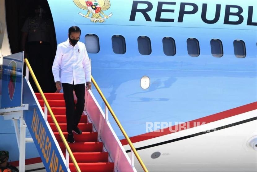 Pesawat kepresidenan (ilustrasi)