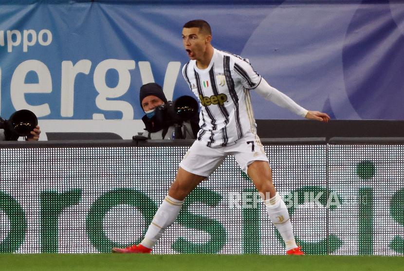 Cagliari Vs Juventus Ronaldo Berpeluang Cetak Rekor Baru Republika Online