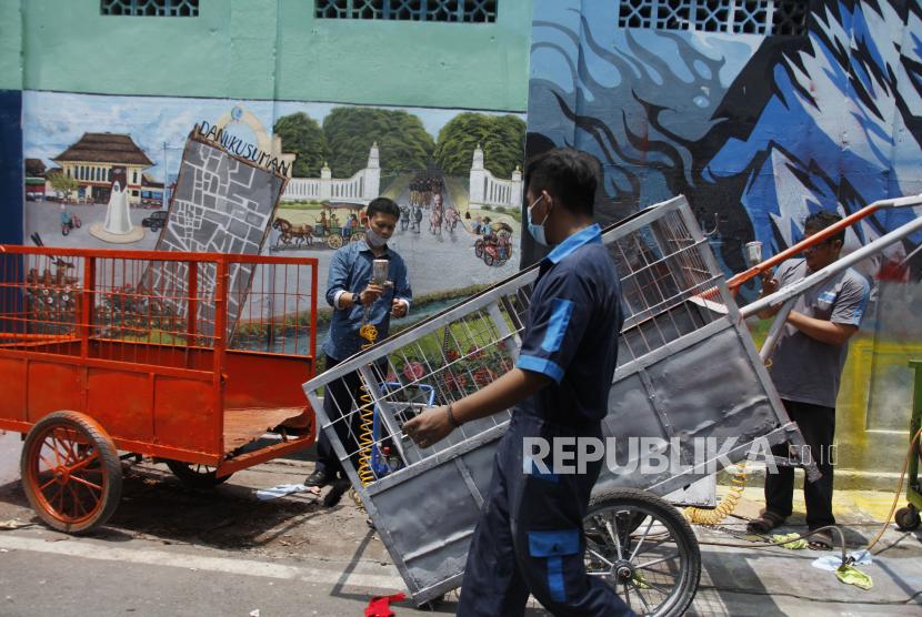 Jelang HUT RI, Warga Surabaya Diimbau Kerja Bakti (ilustrasi).