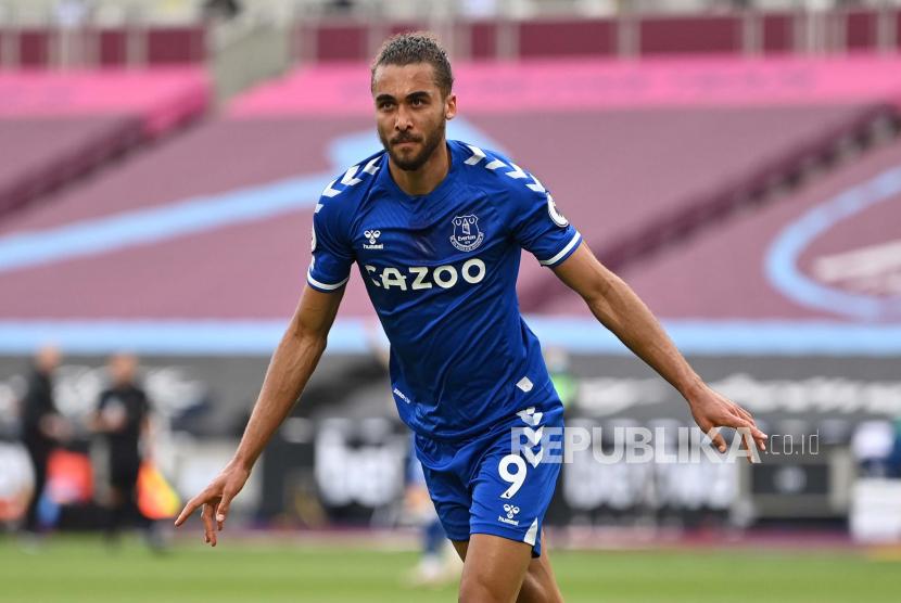 Striker Everton Dominic Calvert-Lewin.