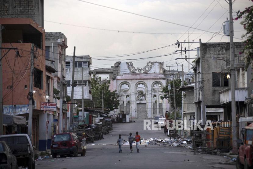 Haiti Dilanda Gempa 7 2 Sr Republika Online