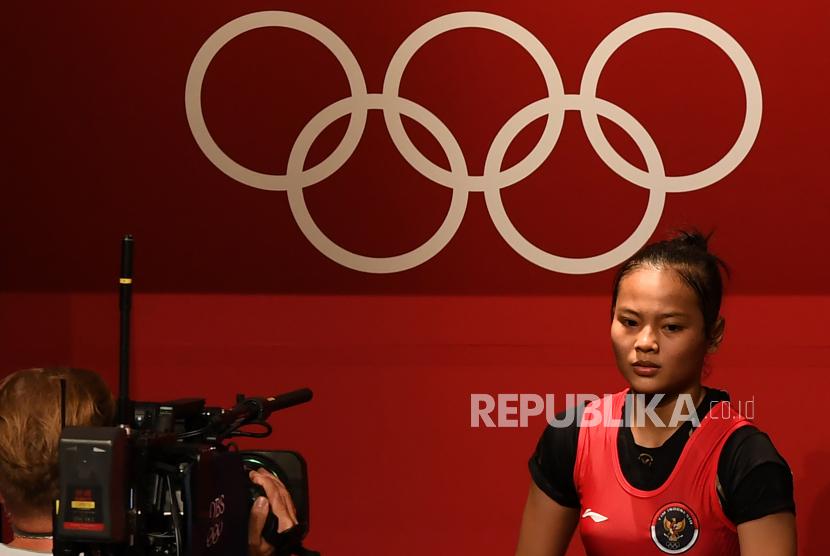 Lifter putri Indonesia Windy Cantika Aisah meraih perunggu dari cabang angkat besi. Ibu Windy menceritakan niat anaknya membangun masjid dari bonus Olimpiade.