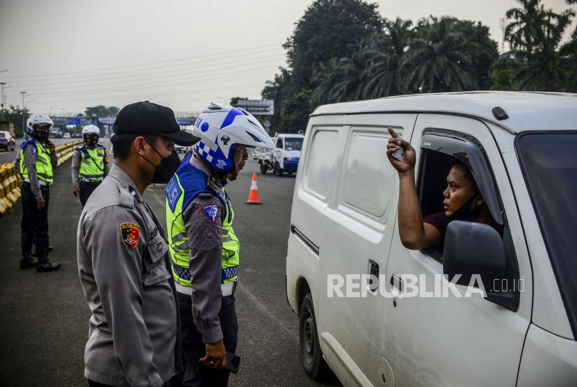 Polres Jember Tegaskan Kebijakan Larangan Mudik Lokal (ilustrasi).