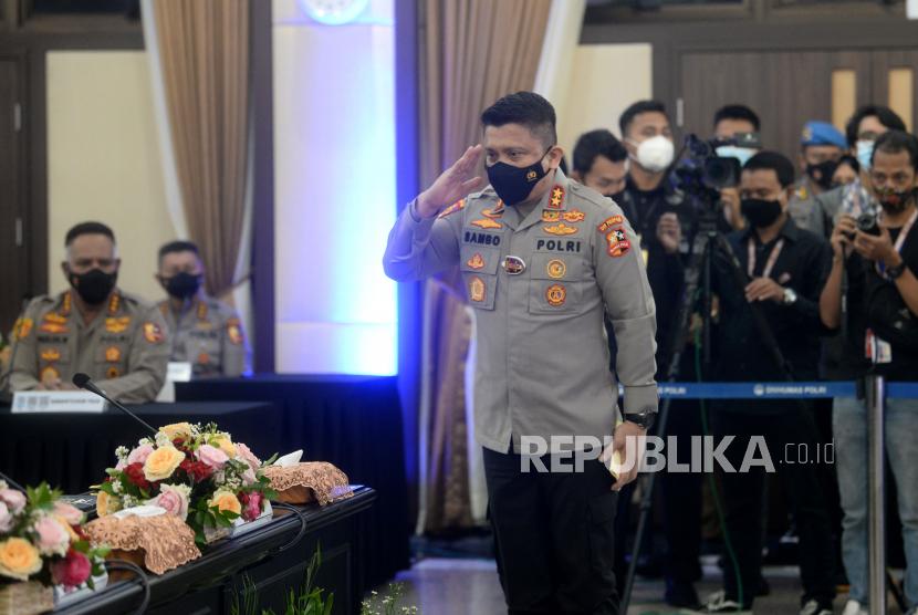 Kepala Divisi Profesi dan Pengamanan (Kadiv Propam) Polri, Irjen Ferdy Sambo.