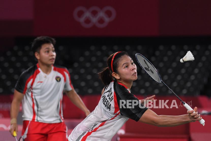 Ganda Putri Indonesia Greysia Pollii/Apriyani Rahayu.