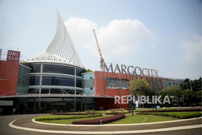 Suasana mal Margocity, Kota Depok, Jawa Barat.