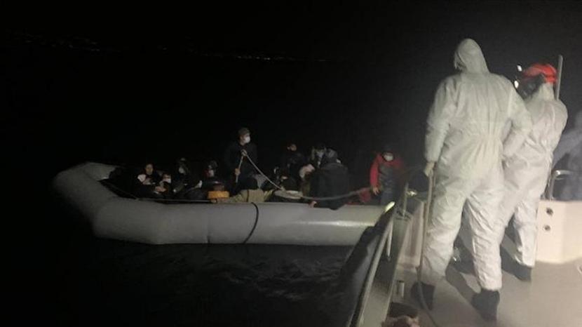 Komando penjaga pantai Turki pada Sabtu (17/4) telah menyelamatkan 41 pencari suaka di Laut Aegea.