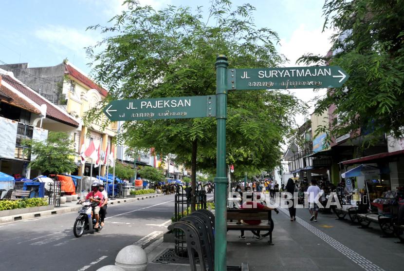 Jalan Malioboro Yogyakarta (ilustrasi)