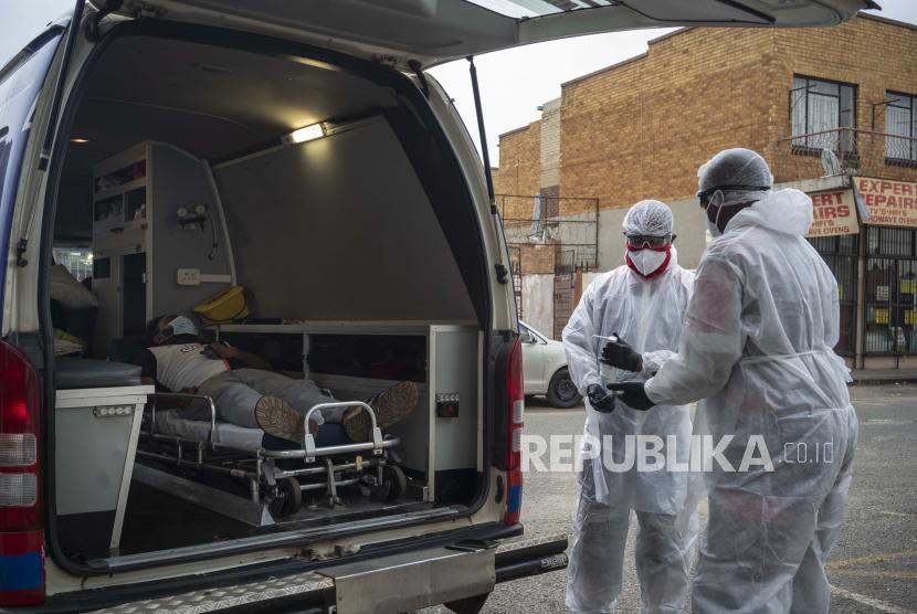 Uganda tiba-tiba mulai mengalami lonjakan tajam infeksi Covid-19 pada Mei. Ilustrasi.