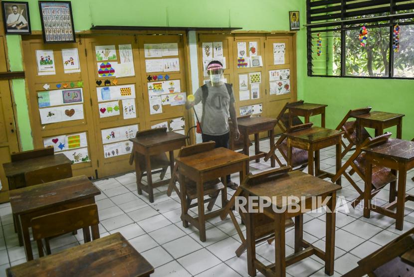 Jateng Siapkan Aturan Belajar Tatap Muka di Luar Zona Merah (ilustrasi).