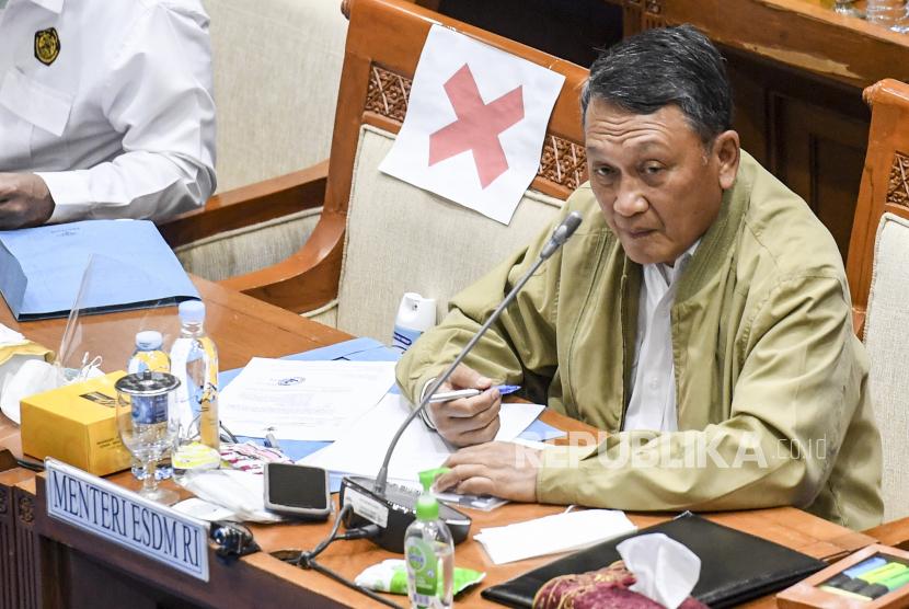 Menteri ESDM Arifin Tasrif. Pemerintah terus mendorong pengembangan green refineries.