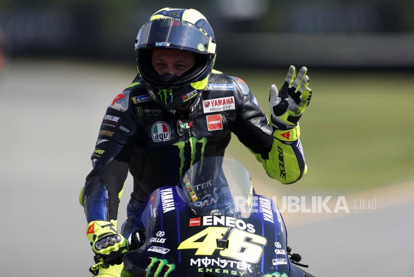 Valentino Rossi umumkan pensiun dari MotoGP akhir musim ini.