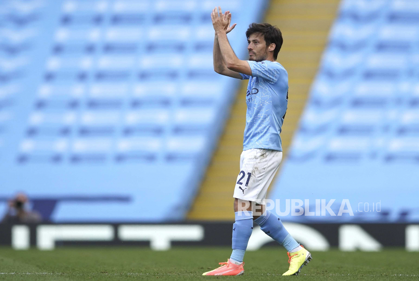 David Silva Masih Ragu Gabung ke Lazio