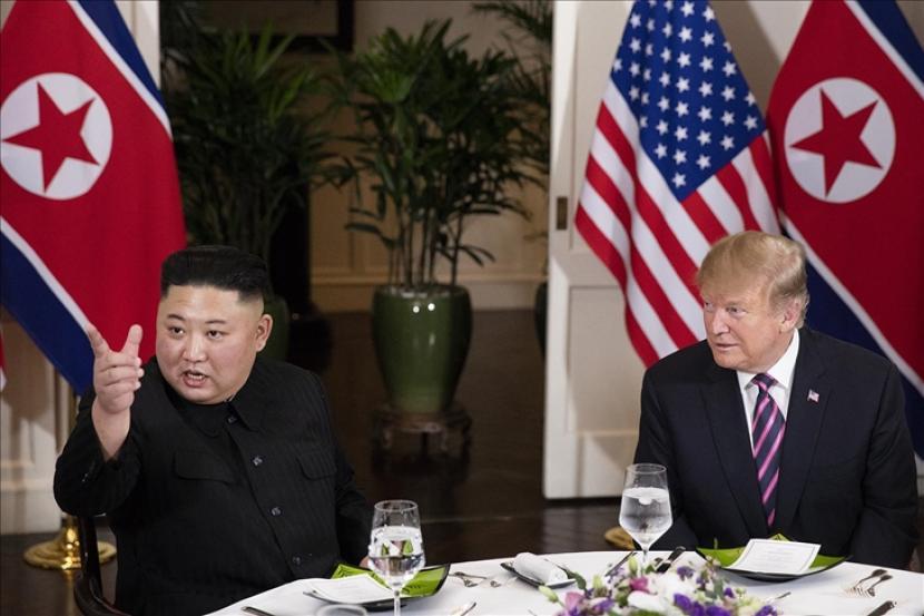 Pemimpin Korea Utara pada Jumat (18/6) menyatakan negaranya harus bersiap untuk