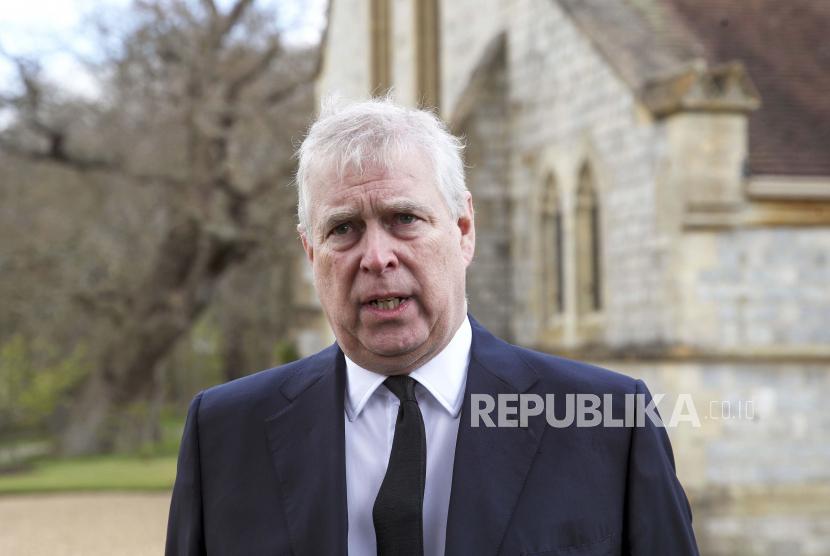 Pangeran Andrew digugat atas kasus pelecehan seksual di Amerika Serikat (AS).