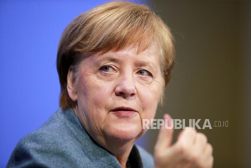 Merkel Dukung Penarikan Pasukan Asing dari Libya. Kanselir Jerman Angela Merkel.