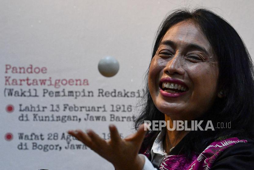 Menteri Pemberdayaan Perempuan dan Perlindungan Anak I Gusti Ayu Bintang Darmawati Puspayoga