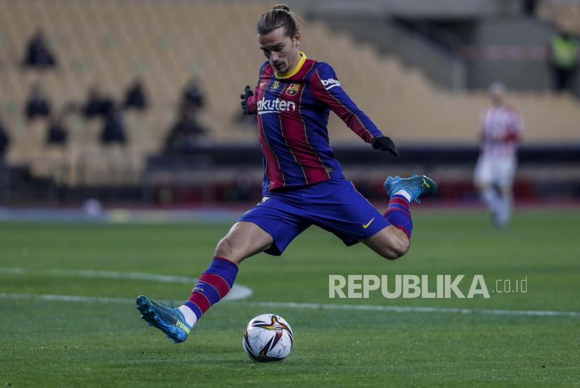 Striker Barcelona Antoine Griezmann.