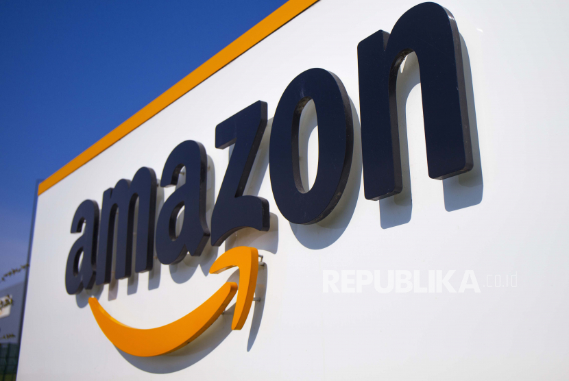 Logo Amazon (ilustrasi).