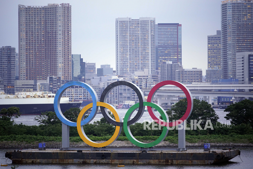 Pawai Obor Olimpiade Tokyo 2021 Digelar Maret | Republika ...