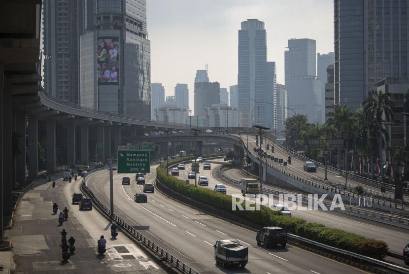 Polusi Udara Di Jakarta Di Masa Ppkm Level 4 Republika Online