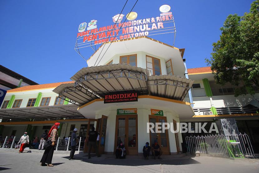 Pusat Pelayanan Pendidikan dan Riset Penyakit Menular RSUD dr Soetomo, Surabaya, Jawa Timur.