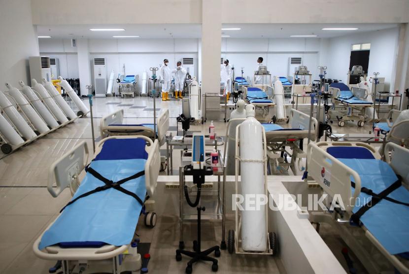 Emergency RS Darurat Covid-19 Bisa Tampung 100 Pasien