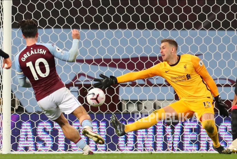 Liverpool Dilibas Aston Villa Dengan Skor Telak 2 7 Republika Online