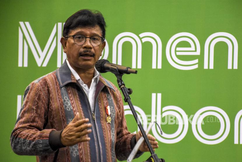 Menteri Komunikasi dan Informatika (Menkominfo) Johnny G. Plate menyatakan Dewan Perwakilan Daerah (DPD) Republik Indonesia berperan penting mendukung transformasi digital di daerah.(ilustrasi).