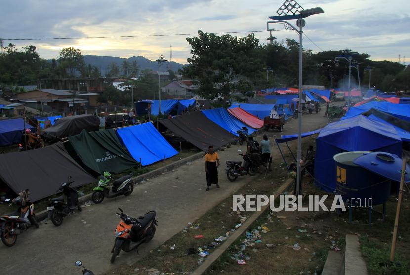 Bencana di Berbagai Daerah Bisa Picu Klaster Pengungsian