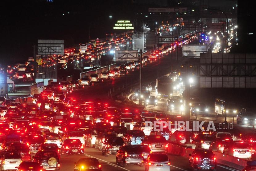 Toll Gate (GT) of Cikarang Utama, Bekasi, West Java, Wednesday (June 20) night.