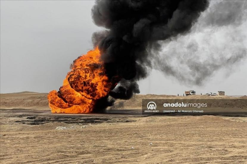 Militan menyerang dua sumur minyak di Provinsi Kirkuk, Irak Utara pada Rabu (5/5), menurut Kementerian Perminyakan Irak.