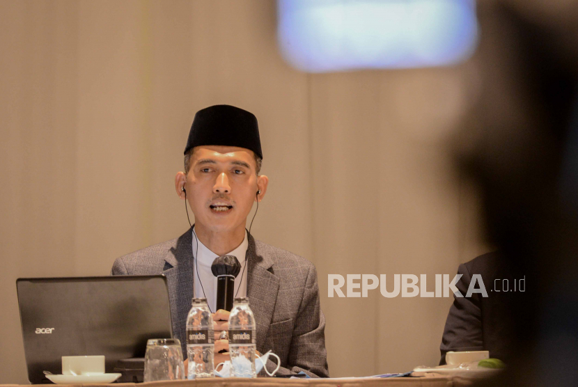 Ketua Harian Bidang Fatwa Majelis Ulama Indonesia (MUI) Asrorun Niam