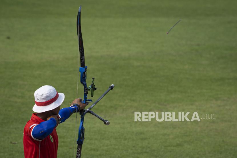 Tim panahan recurve beregu putra Indonesia lolos ke Olimpiade Tokyo 2020 (Foto: ilustrasi)