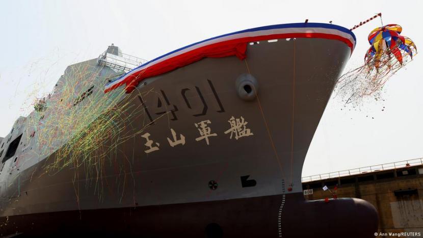 Taiwan Modernisasi Alutsista untuk Hadapi Serangan Cina