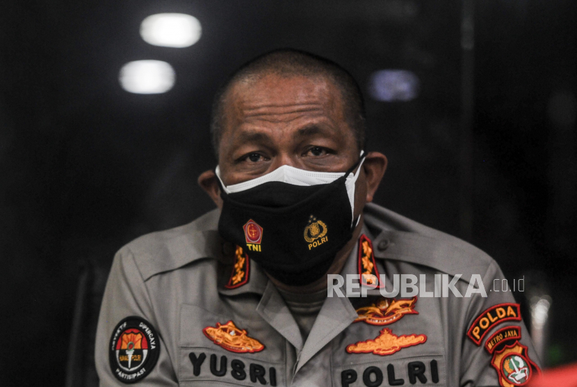 Kabid Humas Polda Metro Jaya Kombes Pol Yusri Yunus. Republika/Putra M. Akbar