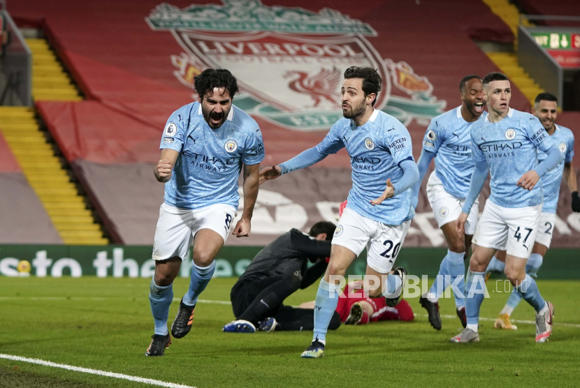 Manchester City di Atas Angin