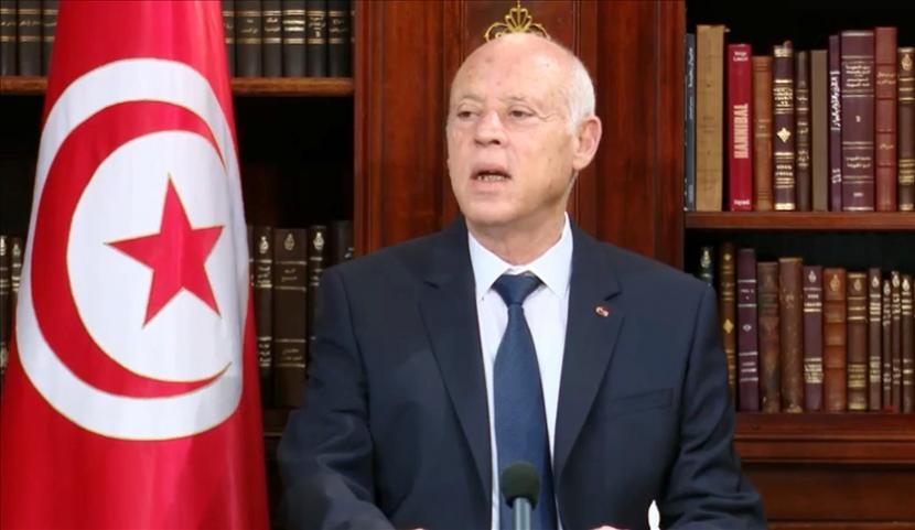 Presiden Tunisia Kais Saied memberhentikan beberapa pejabat tinggi negara.