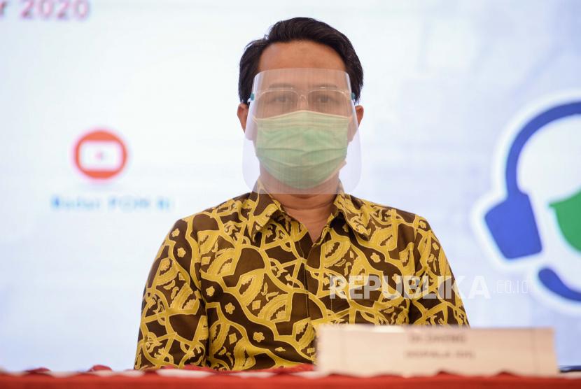 Ketua Ikatan Dokter Indonesia (IDI) Daeng M Faqih.