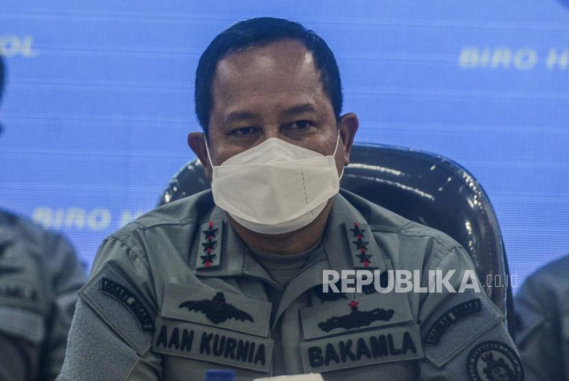 Kepala Badan Keamanan Laut (Bakamla) Laksdya TNI Aan Kurnia.